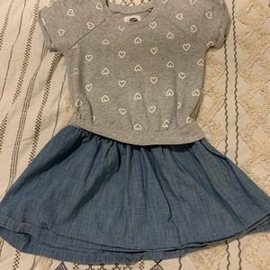 4 items $10 and under for $20 Little hearts dress